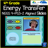4th Grade Science Energy Transfer NGSS 4-PS3-2 aligned for