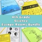 4th Grade Science Escape Rooms {PDF & Digital Included}