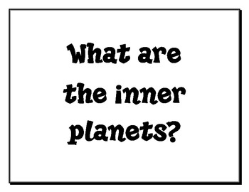 4th Grade Science Essential Questions UPDATED