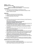 4th Grade Science: Everyday Inventions! Complete Lesson Plan