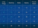 4th Grade Science Exam (NY) Jeopardy Review Game - 1st Edition
