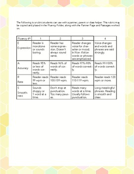 4th Grade Science Fluency Lessons- Weather