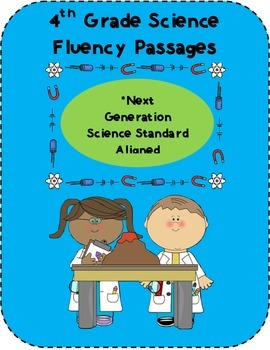 4th Grade Science Fluency Passages {NGSS Aligned}