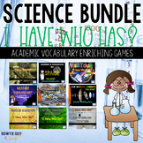 4th Grade Science I Have, Who Has? Games for the Year BUNDLED!
