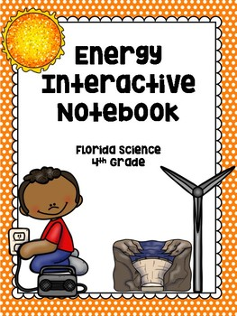 4th Grade Science Interactive Notebook: Forms of Energy