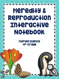 4th Grade Science Interactive Notebook: Heredity & Reproduction