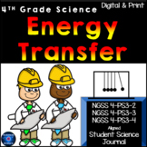4th Grade Science ENERGY TRANSFER NGSS 4-PS3-2, 4-PS3-3, 4-PS3-4   Google, Print