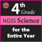 4th Grade Science Curriculum NGSS Curriculum for Entire Year