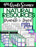 4th Grade Science: Natural Resources (TEKS - Based Unit 5)