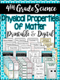4th Grade Science: Physical Properties of Matter / Printab