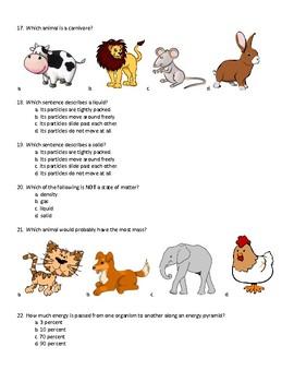 4th Grade Science SLO #4