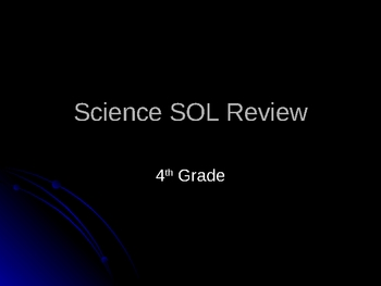 4th Grade Science SOL Review