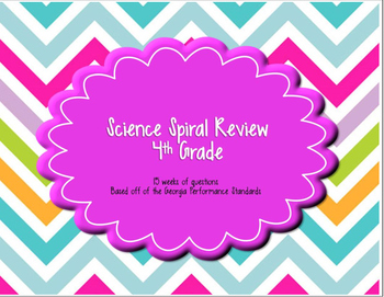 4th Grade Science Spiral Review