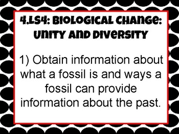 Tennessee 4th Grade Science Standard-  Biological Change