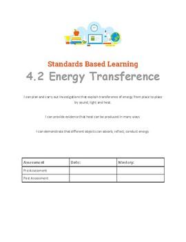 4th Grade Science Student Data Tracker