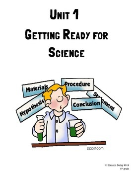 4th Grade Science Study Guide Intro To Science