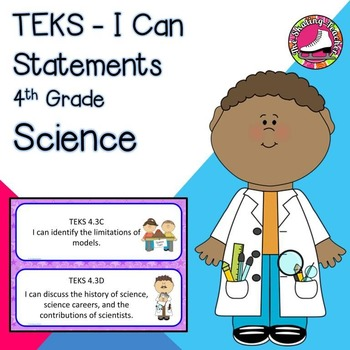 4th Grade Science TEKS I Can Statements