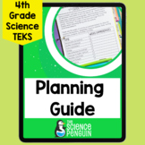 4th Grade Science TEKS Planning Guide: Back to School