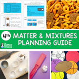4th Grade Science TEKS Planning Guide: Matter and Mixtures