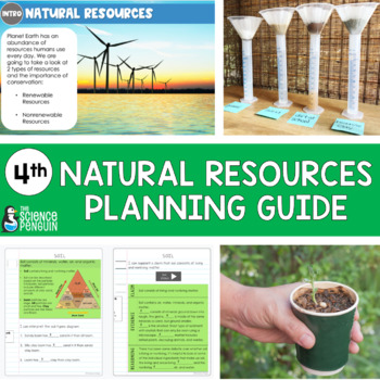 4th Grade Science TEKS Planning Guide: Natural Resources