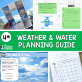 4th Grade Science TEKS Planning Guide: Weather and Water