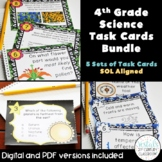 4th Grade Science Task Card Bundle {Digital & PDF Included}