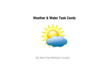 4th Grade Science Task Cards (EDITABLE) - Bundle