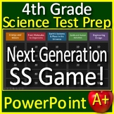 4th Grade Science Test Prep Game: Review NGSS Units - Google Classroom Ready!