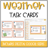 4th Grade Science Weather Task Cards