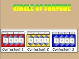 4th Grade Science Wheel of Fortune Test Prep Game in SMART