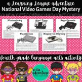 4th Grade September Reading Adventure- National Video Game