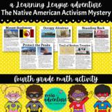 4th Grade September Math Adventure- The Native American Ac