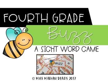 4th Grade Sight Word BUZZ