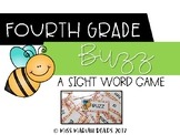 4th Grade Sight Word BUZZ