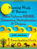4th Grade Singapore Mastery Method Multiplication Division with Soln