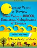 4th Grade Singapore Mastery Method Multiplication Division