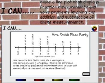 4th Grade SmartBoard CCS Math Constructed Response Assessment & Grading Rubrics
