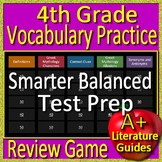 4th Grade Smarter Balanced Test Prep Vocabulary and Myth Allusion Review Game