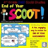 4th Grade Social Studies AIR TEST PREP Scoot! (Ohio standards)