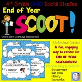 4th Grade Social Studies END OF YEAR Scoot! (Ohio standards)