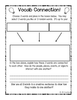 4th Grade American Revolution Content Specific Vocabulary Activity Pack