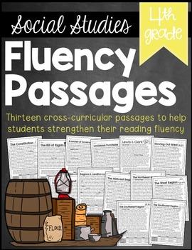 4th Grade Social Studies Fluency Passages