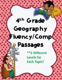 4th Grade Social Studies Fluency Passages {Geography}