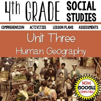 4th Grade Social Studies - Human Geography