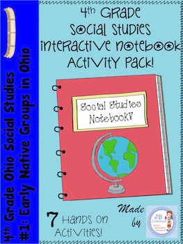 4th Grade Social Studies Interactive Notebook: Ohio's Earl