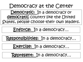 4th Grade Social Studies Interactive Notebook Voices and Votes