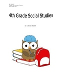 4th Grade Social Studies Key Terms, guided notes and indep
