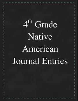 4th Grade Social Studies - Native American Unit Graphic Organizer