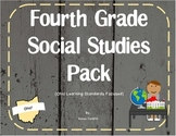 4th Grade Social Studies Pack (Ohio Learning Standards)