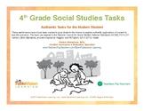 4th Grade Social Studies Performance Tasks